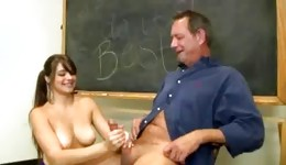 The above-mentioned blooming models will be satisfied 100% finally having sex with offensive teachers