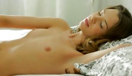 Passionate naked brilliance flashing hard bosoms getting pussy stretched