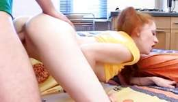 Salacious abdl whore is riding exasperating on a hard subrigid penis